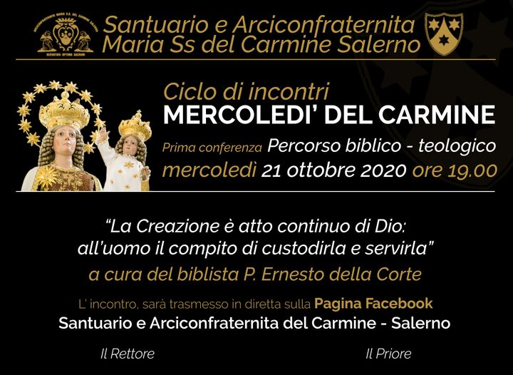 Mercoledì del Carmine - Evento biblico-teologico
